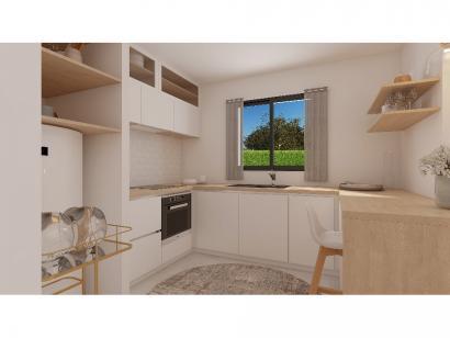 Modèle de maison Etage GI 4 ch Trendy 4 chambres  : Photo 4