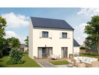 Modèle de maison Etage GA 4 ch Trendy 4 chambres  : Photo 2