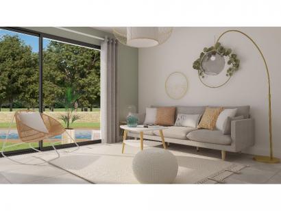 Modèle de maison Etage GA 4 ch Trendy 4 chambres  : Photo 4