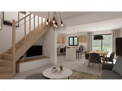Modèle de maison Combles GA 4 ch Design 3 chambres  : Photo 4