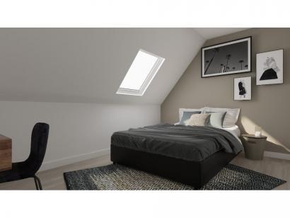 Modèle de maison Combles GA 4 ch Design 3 chambres  : Photo 8