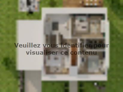 Plan de maison Combles GA 4 ch Design 3 chambres  : Photo 3