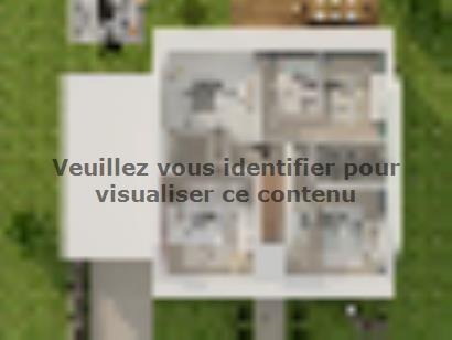 Plan de maison Combles GA 4 ch Briques 3 chambres  : Photo 4