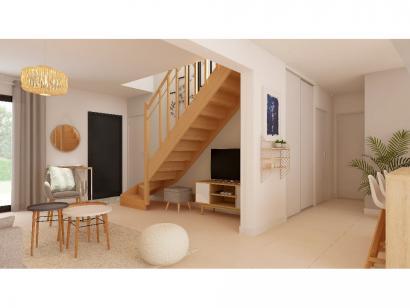 Modèle de maison Combles GA 4 ch Briques 3 chambres  : Photo 4