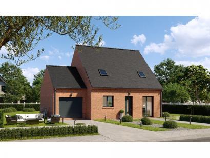 Modèle de maison Combles GA 4 ch Briques 3 chambres  : Photo 1