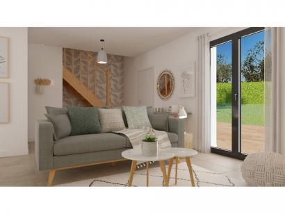 Modèle de maison Combles GI  3 ch Briques 3 chambres  : Photo 2