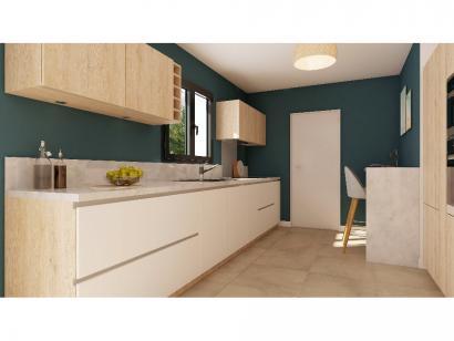 Modèle de maison Combles GI  3 ch Briques 3 chambres  : Photo 3