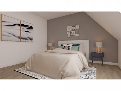 Modèle de maison Combles GI  3 ch Briques 3 chambres  : Photo 6