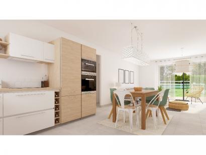 Modèle de maison Plain-pied GA 2 ch Briques 2 chambres  : Photo 2