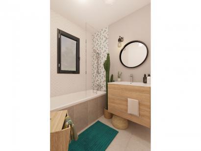 Modèle de maison Plain-pied GA 2 ch Briques 2 chambres  : Photo 7