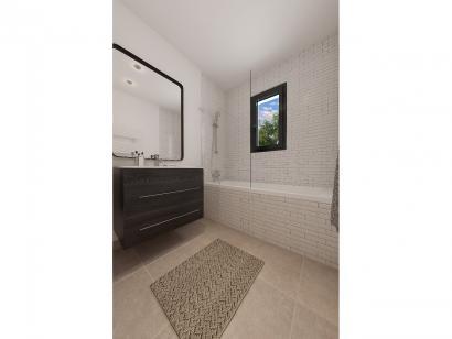 Modèle de maison Plain-pied GA 3 ch Design 3 chambres  : Photo 9