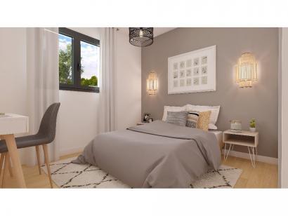 Modèle de maison Plain-pied GA 3 ch Briques 3 chambres  : Photo 7