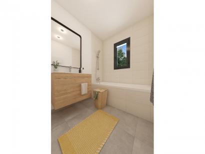 Modèle de maison Plain-pied GA 3 ch Briques 3 chambres  : Photo 8