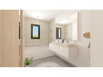 Modèle de maison Plain-pied GA 4 ch Briques 4 chambres  : Photo 8