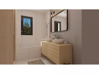 Modèle de maison Plain-pied GI 4 ch Briques 4 chambres  : Photo 9