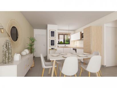 Modèle de maison Plain-pied GI 2 ch Briques 2 chambres  : Photo 2