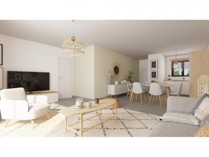 Modèle de maison Plain-pied GI 2 ch Briques 2 chambres  : Photo 3