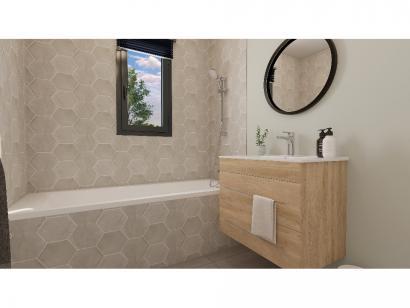 Modèle de maison Plain-pied GI 2 ch Briques 2 chambres  : Photo 7