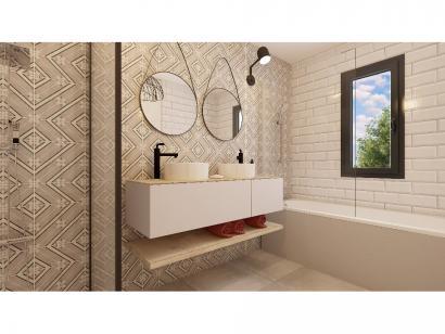 Modèle de maison Etage GA 4 ch Briques 4 chambres  : Photo 8