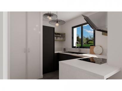 Modèle de maison Etage GI 3 ch Design 3 chambres  : Photo 4