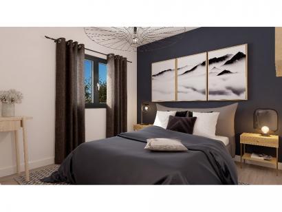 Modèle de maison Etage GI 3 ch Design 3 chambres  : Photo 5