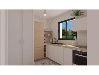 Modèle de maison Etage GI 3 ch Briques 3 chambres  : Photo 3