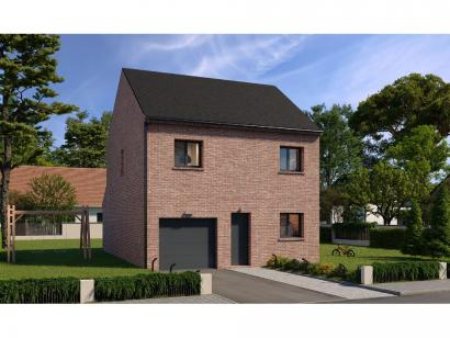 Modèle de maison Etage GI 3 ch Briques 3 chambres  : Photo 1