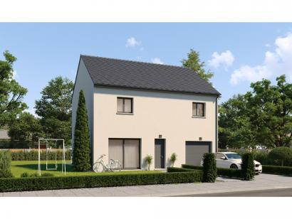 Modèle de maison Etage GI 4 ch Design 4 chambres  : Photo 1