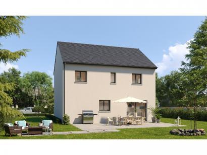 Modèle de maison Etage GI 4 ch Design 4 chambres  : Photo 2