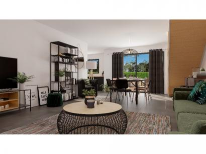 Modèle de maison Etage GI 4 ch Design 4 chambres  : Photo 3