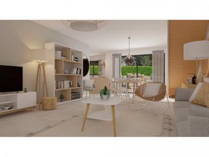Modèle de maison Etage GI 4 ch Briques 4 chambres  : Photo 2