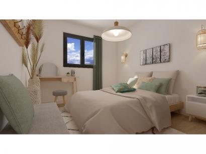 Modèle de maison Etage GI 4 ch Briques 4 chambres  : Photo 4