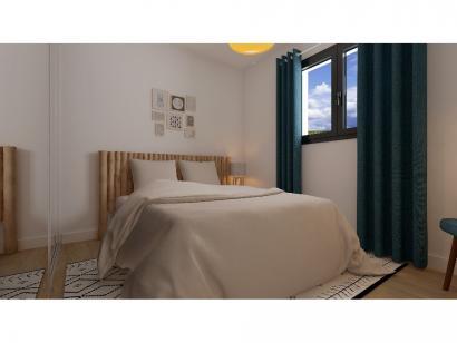 Modèle de maison Etage GI 4 ch Briques 4 chambres  : Photo 5
