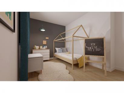 Modèle de maison Etage GI 4 ch Briques 4 chambres  : Photo 7