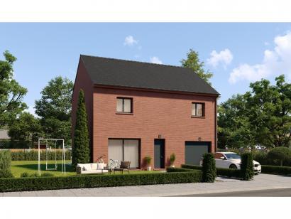 Modèle de maison Etage GI 4 ch Briques 4 chambres  : Photo 1