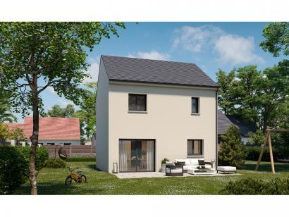 Modèle de maison Etage GA 3 ch Design 3 chambres  : Photo 2