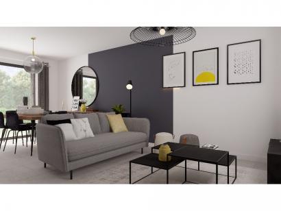 Modèle de maison Etage GA 3 ch Design 3 chambres  : Photo 3