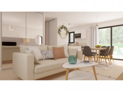 Modèle de maison Etage GA 3 ch Trendy 3 chambres  : Photo 3