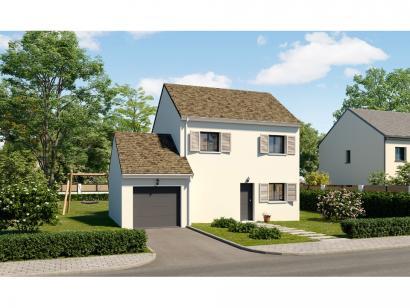 Modèle de maison Etage GA 3 ch Trendy 3 chambres  : Photo 1