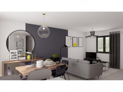 Modèle de maison Etage GA 3 ch Design 3 chambres  : Photo 4