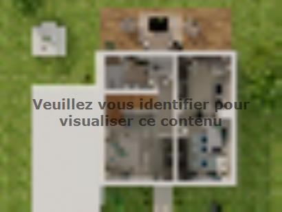 Plan de maison Etage GA 3 ch Briques 3 chambres  : Photo 3