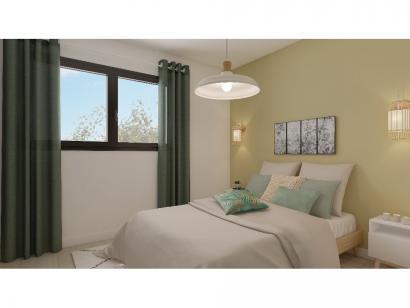 Modèle de maison Etage GA 3 ch Briques 3 chambres  : Photo 6
