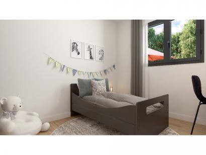 Modèle de maison Plain-pied GI 4 ch _ CHAMBRE TWIN + GARAGE SUITE P 5 chambres  : Photo 9