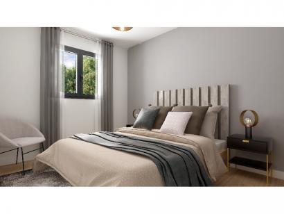 Modèle de maison Plain-pied GI 4 ch _ CHAMBRE TWIN + 2 x SUITES PAR 5 chambres  : Photo 8