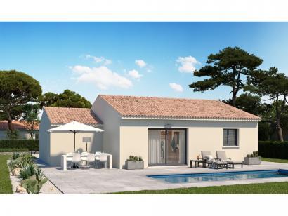 Modèle de maison Plain-pied GA 2 ch Design 2 chambres  : Photo 2