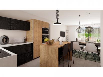 Modèle de maison Plain-pied GA 2 ch Design 2 chambres  : Photo 3