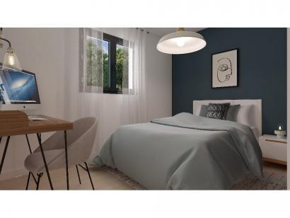 Modèle de maison Plain-pied GA 2 ch Design 2 chambres  : Photo 6