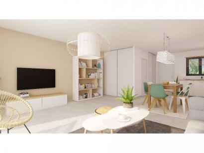 Modèle de maison Plain-pied GA 2 ch Trendy 2 chambres  : Photo 4