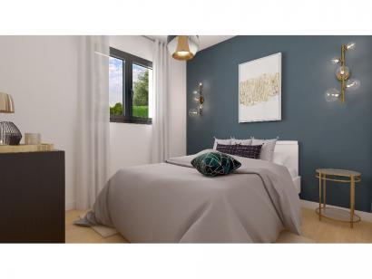 Modèle de maison Plain-pied GA 3 ch Design 3 chambres  : Photo 7