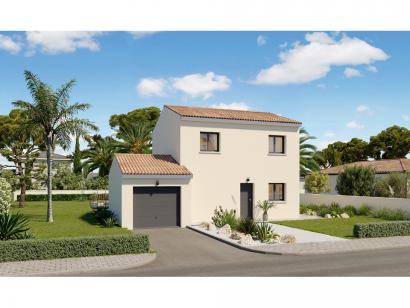 Modèle de maison Etage GA 3 ch Design 3 chambres  : Photo 1